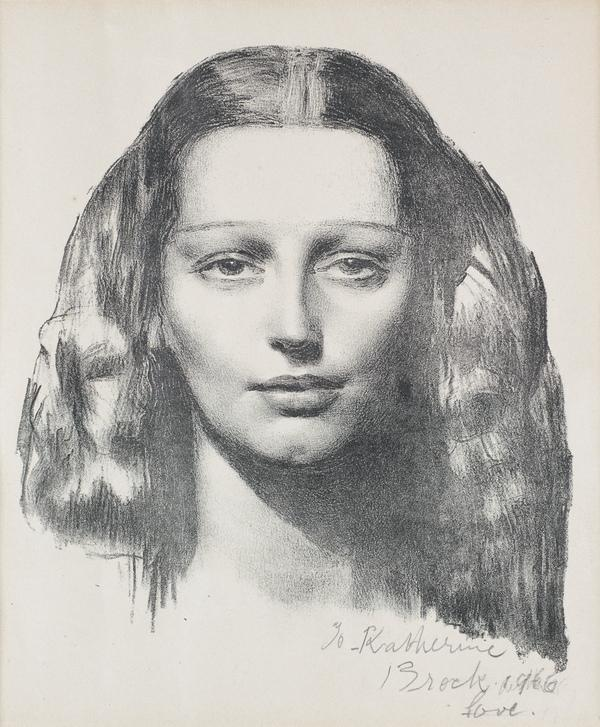 Head of a Girl (1942)