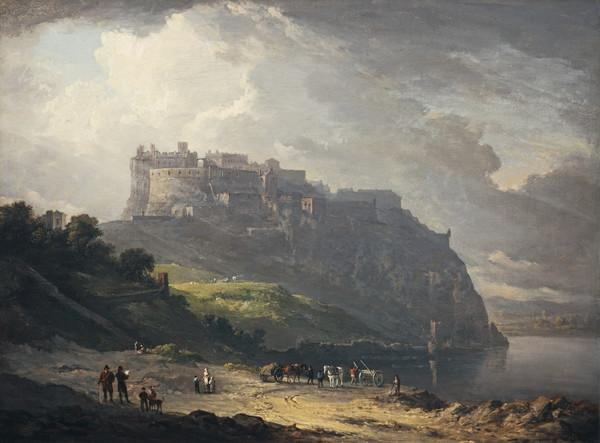 Edinburgh Castle and the Nor' Loch (1824)