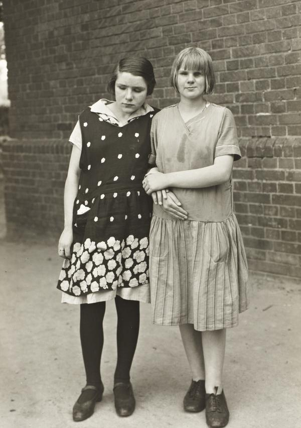 Blind Girls, c.1930 (about 1930)