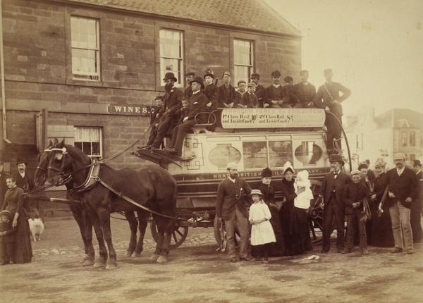 North British Railway Company Coach