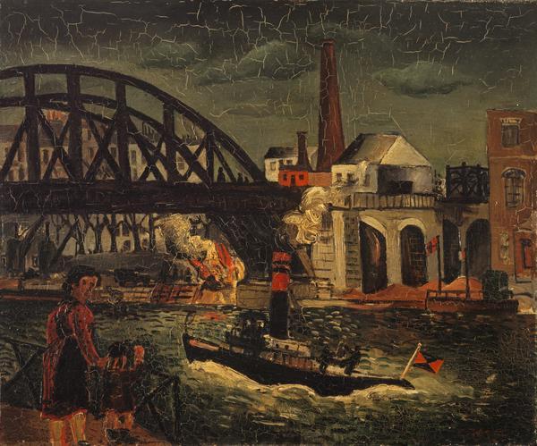 Bridge over the Seine (1927)