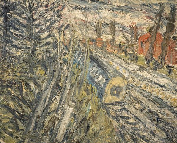 Between Kilburn and Willesden Green, Winter Evening (1992)