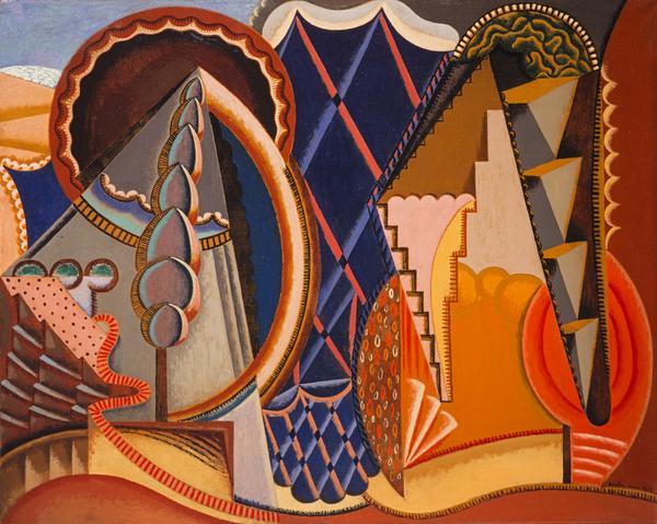 Composition (Paysage à Céret) [Composition (Landscape at Céret)] (1919)