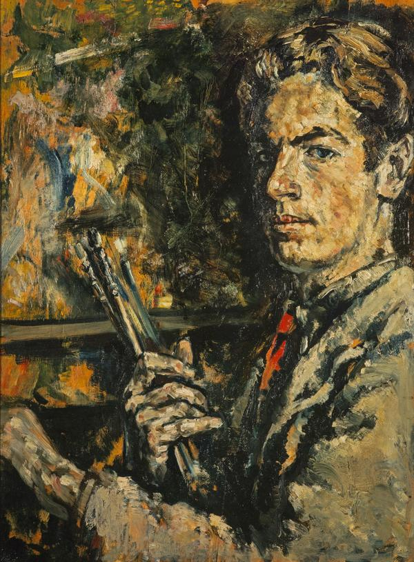 Self-Portrait with Brushes (1937)