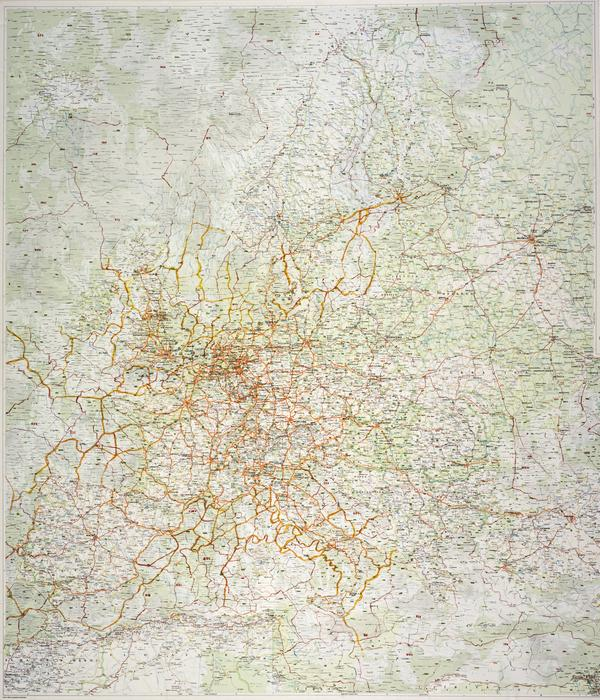 Europe Map (Land) (1) (1998)