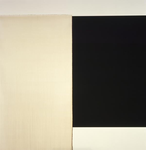 Exposed Painting: Charcoal Grey / Yellow Oxide / Asphalt (1999)