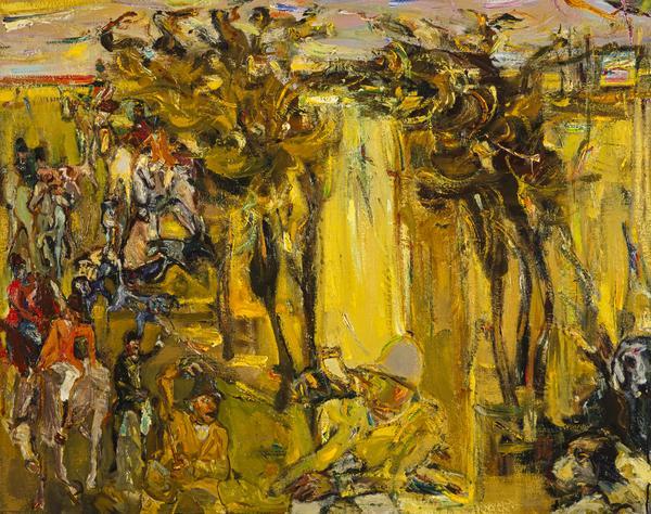 Landscape with Huntsmen (1953)