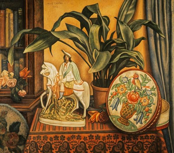 Still Life with Aspidistra (1926)