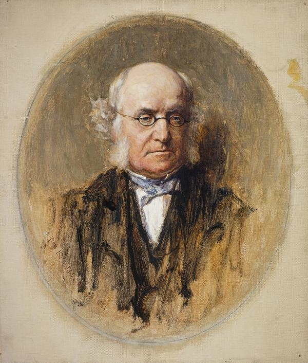 Dr John Brown, 1810 - 1882. Physician and author of Rab and his Friends (1881)