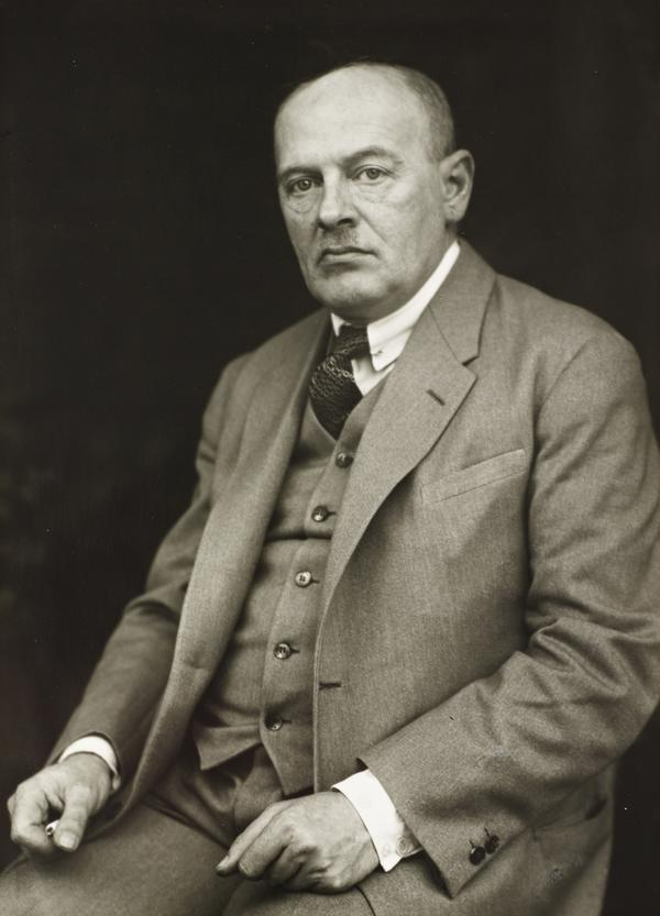 Philosopher [Max Scheler], about 1925 (about 1925)