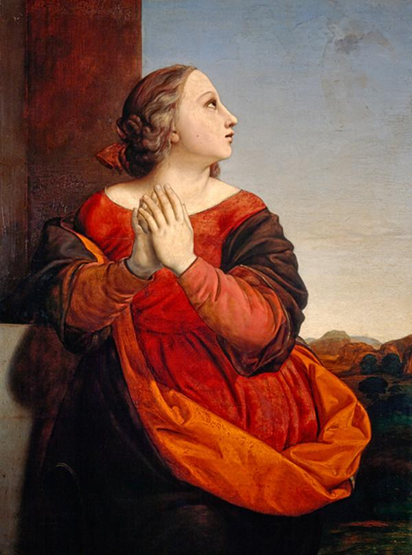 Saint Catherine (About 1840)