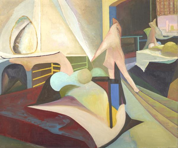Untitled (Bedroom Abstract) (1949)