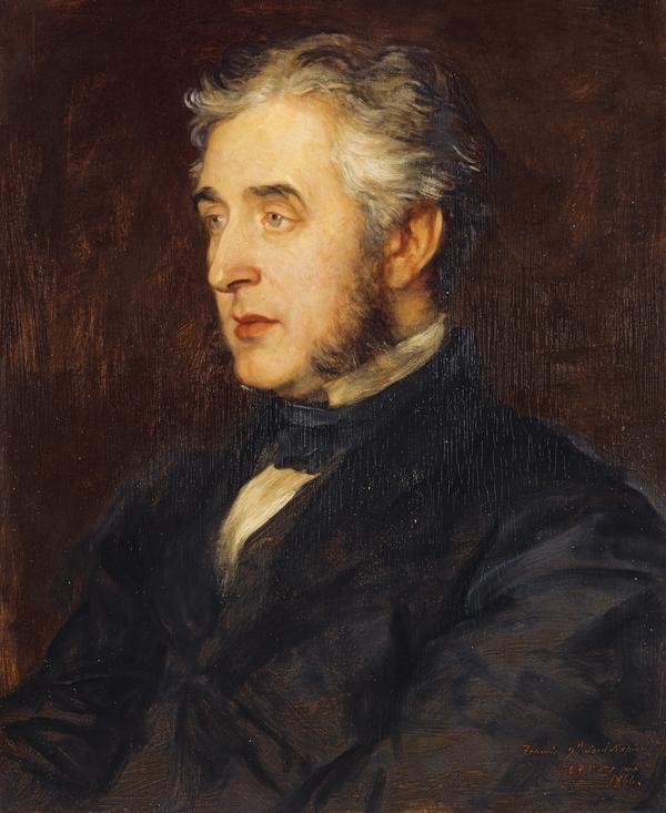 Francis Napier, 10th Baron Napier and 1st Baron Ettrick, 1819 - 1898. Diplomat and Governor of Madras (1866)