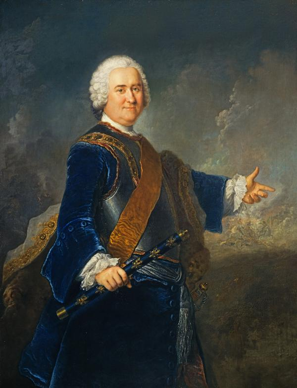 Field Marshal James Francis Edward Keith, 1696 - 1758. Soldier in Russian and Prussian service (About 1750)