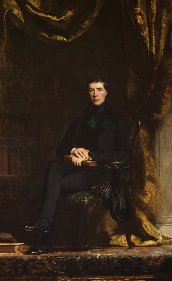 Henry Peter Brougham, 1st Baron Brougham and Vaux, 1778 - 1868. Statesman (about 1835)