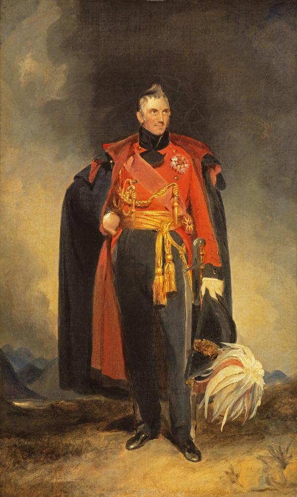 General Sir George Murray, 1772 - 1846. Soldier and statesman (About 1825)