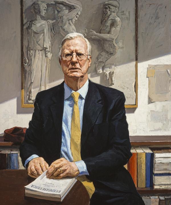 Sir James Mirrlees, born 1936. Nobel Laureate for Economics (2007)