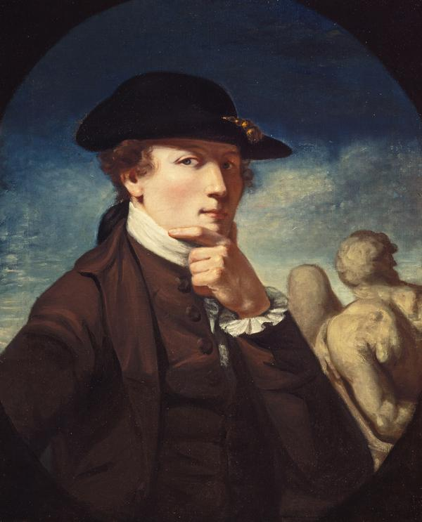 John Runciman, 1744 - 1768. Artist (Self-portrait) (1767)
