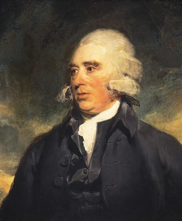 Dr John Moore, 1730 - 1802. Physician and author