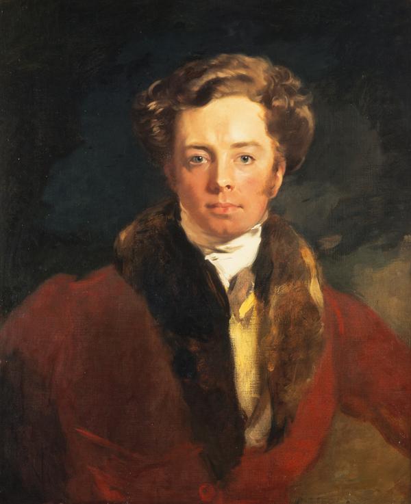 Andrew Geddes, 1783 - 1844. Artist (Self-portrait) (About 1815)