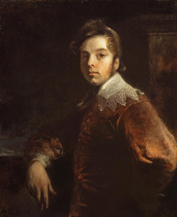 Andrew Geddes, 1783 - 1844. Artist (Self-portrait) (Dated 1812)