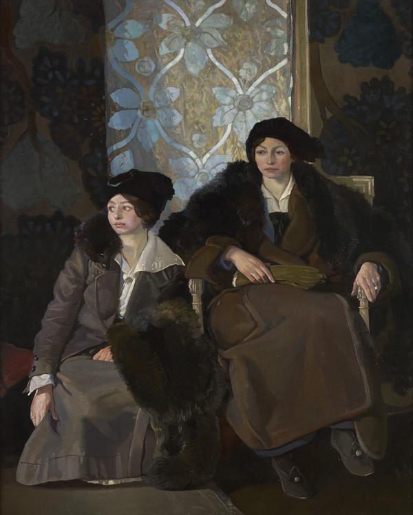 Miss Maidie and Miss Elsie Scott (1915)