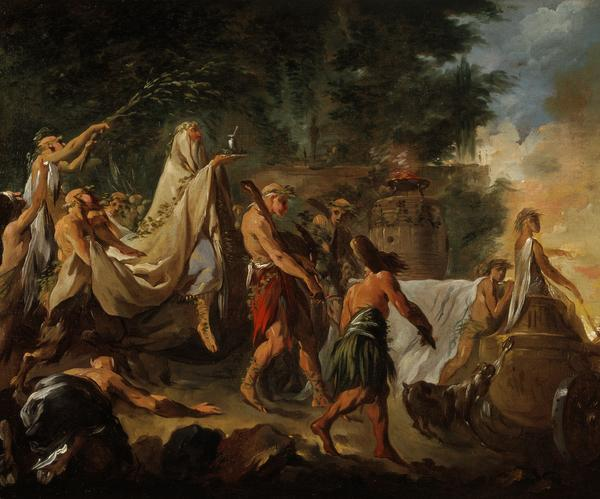 A Druids' Ceremony (About 1737 - 1744)