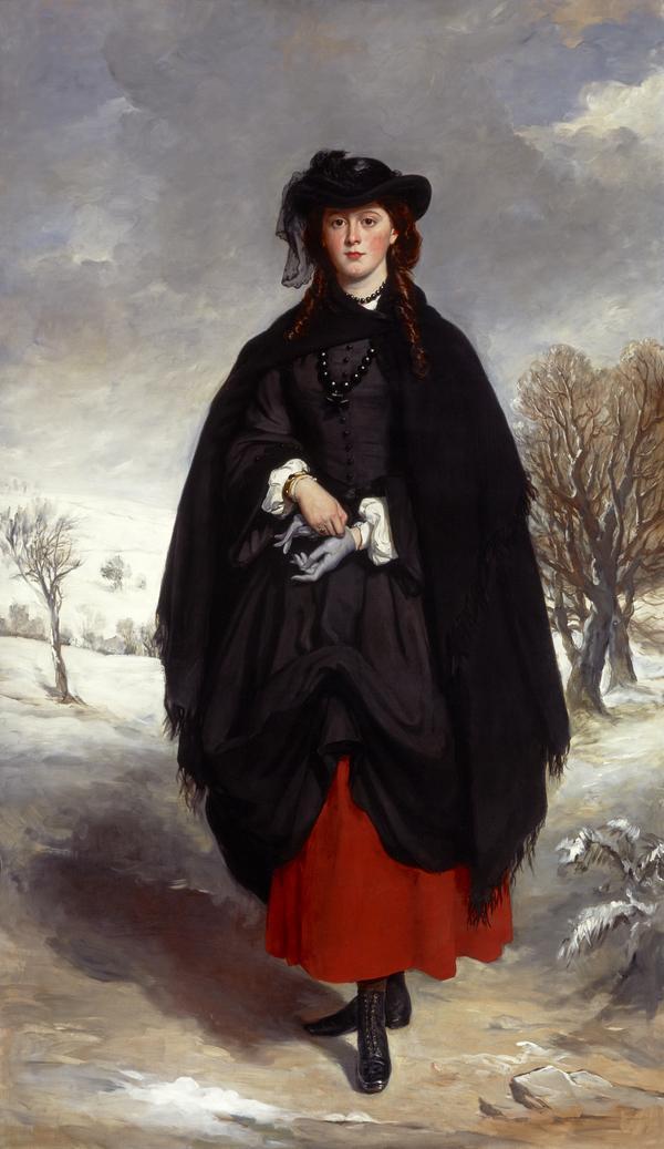 Anne Emily Sophia Grant (known as 'Daisy' Grant), Mrs William Markham (1836 - 1880) (1857)