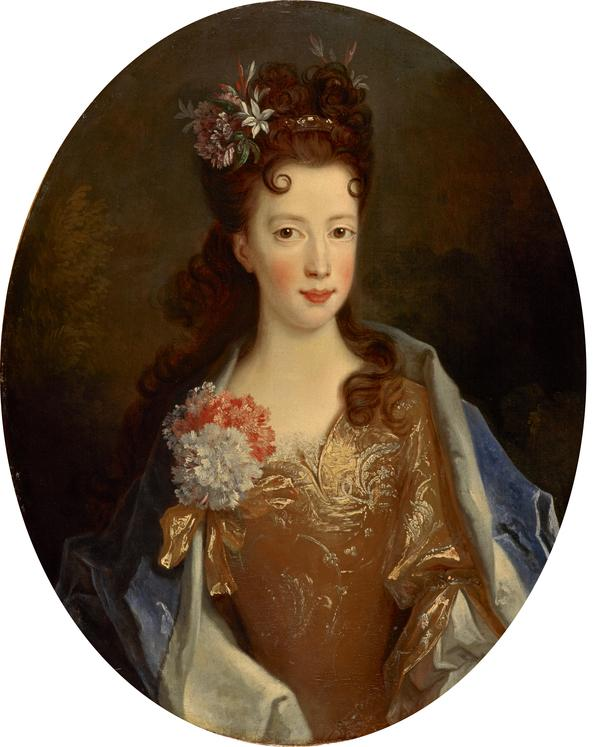 Princess Louisa Maria Teresa Stuart, 1692 - 1712. Daughter of James VII and II (1704)