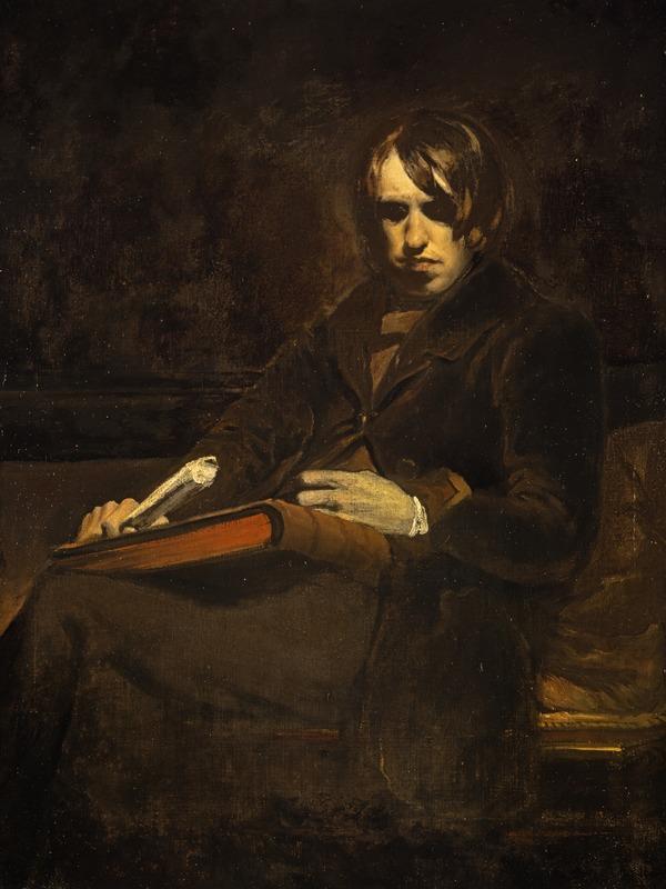 Sir William Fettes Douglas, 1822 - 1891. Artist (self-portrait) (About 1845)