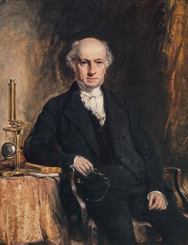 George Johnston, 1797 - 1855. Naturalist and author (Dated 1849)