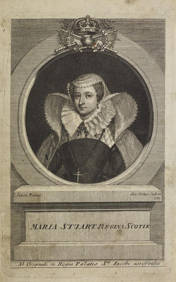 Mary, Queen of Scots, 1542 - 1587. Reigned 1542 - 1567 (1729)