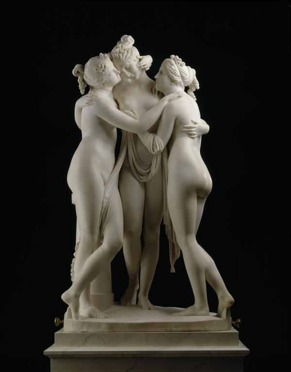 The Three Graces (Aglaia, Euphrosyne and Thalia) (1815 - 1817)