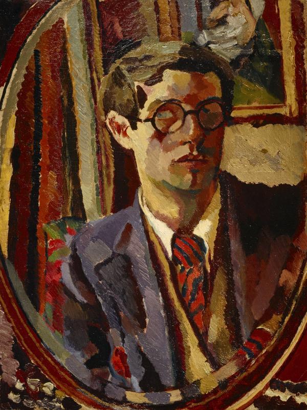Duncan Grant, 1885 - 1978. Artist (Self-portrait) (About 1920)