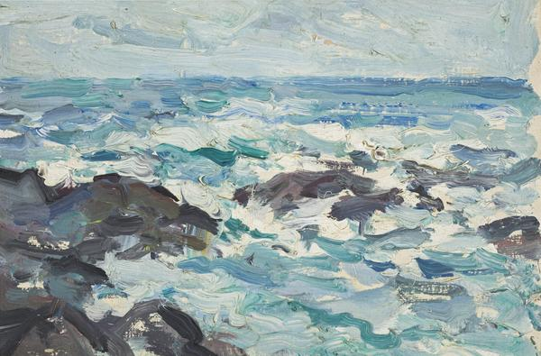 Rocks at Barra (1903)