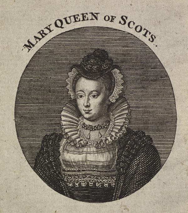 Mary, Queen of Scots, 1542 - 1587. Reigned 1542 - 1567 (Published 1757)