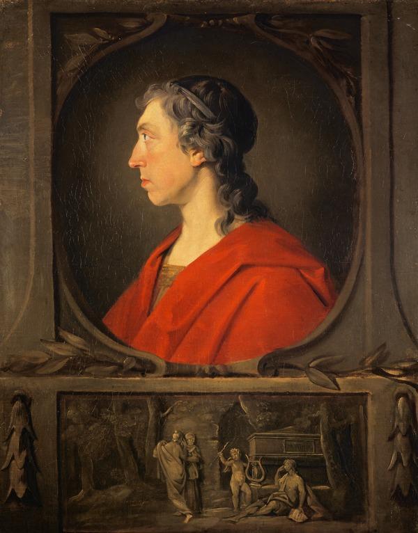 William Hamilton of Bangour, 1704 - 1754. Poet (About 1748)