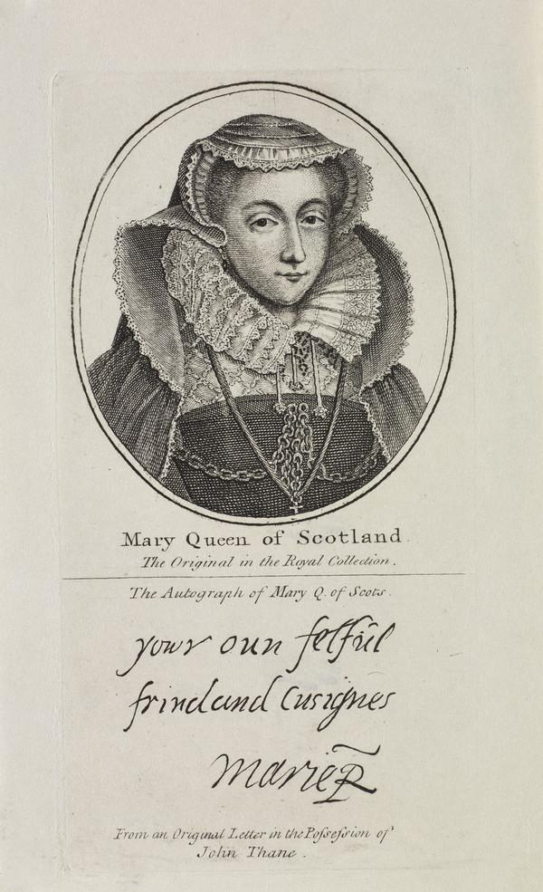 Mary, Queen of Scots, 1542 - 1587. Reigned 1542 - 1567 (Possibly 18th century)