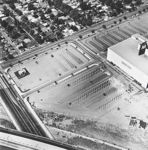 May Company, 6150 Laurel Canyon, North Hollywood (1967 / 1999)