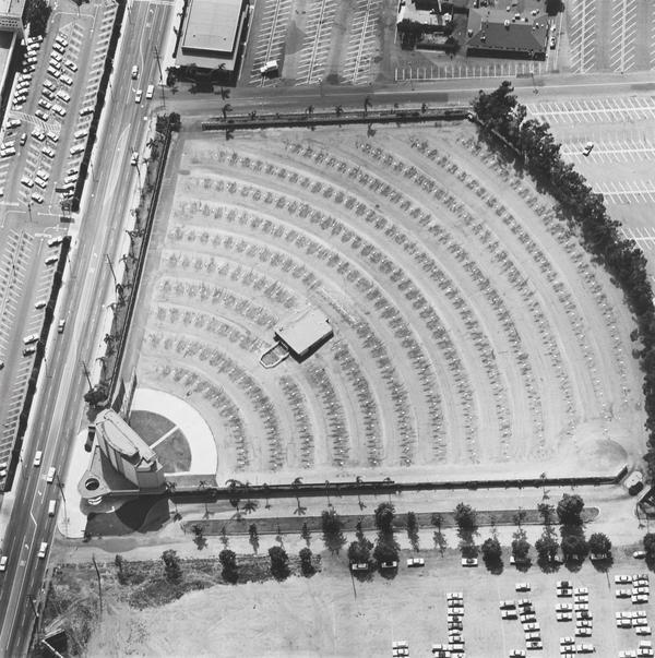 Gilmore Drive-in Theatre, 6201 W. 3rd St (1967 / 1999)