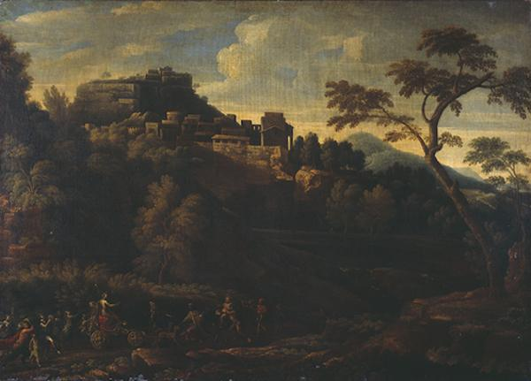 Landscape with the Triumph of Bacchus (1615 - 1675)