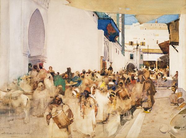 A Moorish Procession, Tangier (1893)