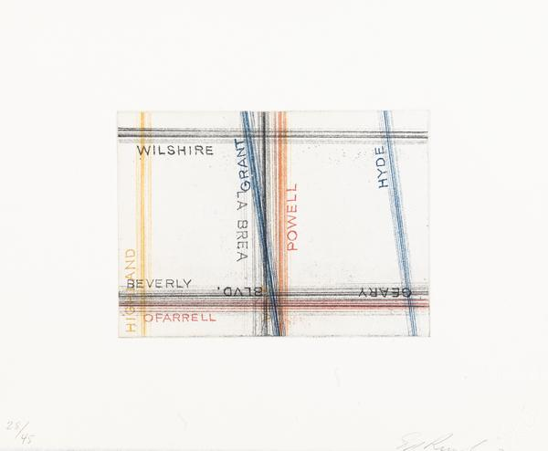 Wilshire, Grant (from Los Francisco San Angeles Portfolio) (2001)