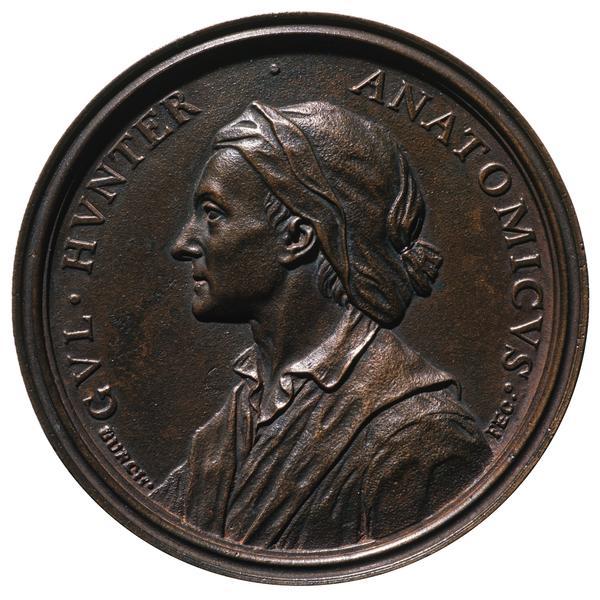 William Hunter, 1718 - 1783. Anatomist (1774)