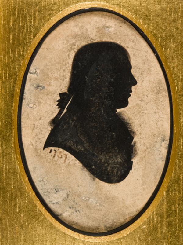 Robert Burns, 1759 - 1796. Poet (Dated 1787)