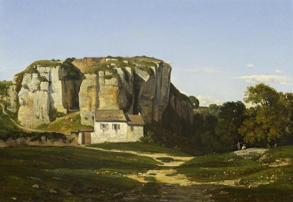 Cliffs Near Cremieu (1847)