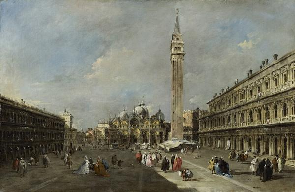 The Piazza San Marco, Venice (About 1775 - 1780)