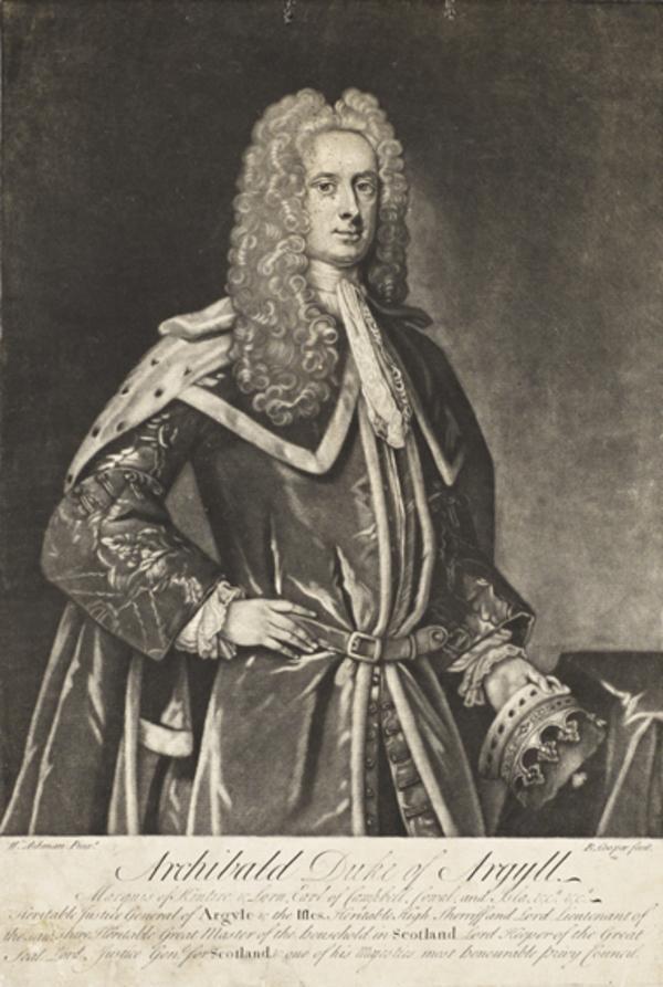 Archibald Campbell, 3rd Duke of Argyll, 1682 - 1761. Statesman