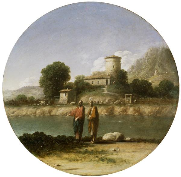 Landscape with Christ and Saint John the Baptist (About 1625 - 1638)