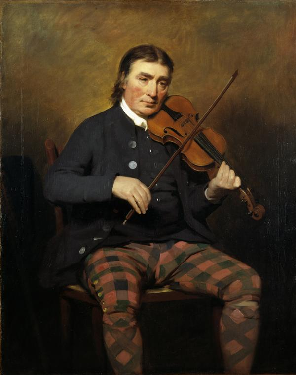 Niel Gow, 1727 - 1807. Violinist and composer (1787)
